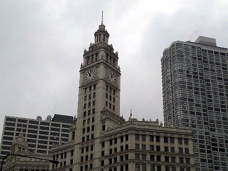 Detail to the Wrigley Building #LoveThisCity #CBias