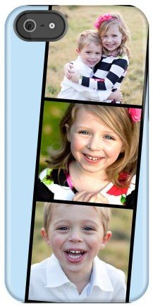 customizable photo case from Shutterfly with newsreel