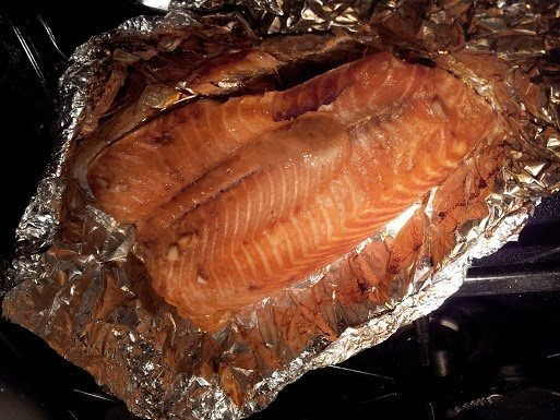 Soy Ginger Salmon - Tasty Tuesday! - Honest And Truly!