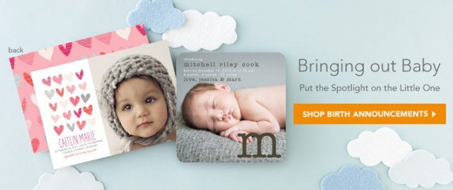 Tiny Prints Baby Announcements