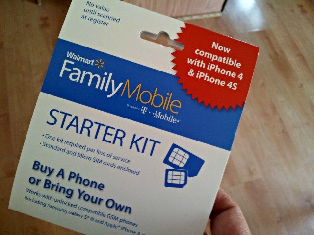 Walmart Family Mobile Starter Kit