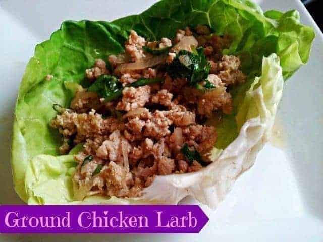 Ground Chicken Ground Chicken Larb Recipe