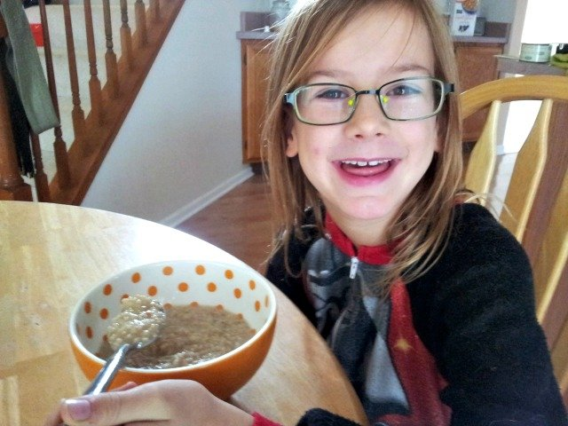 Enjoying Good Food Made Simple oatmeal