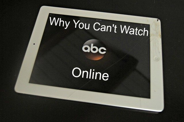 ABC has changed the rules of streaming their shows. Here's wat you need to know.