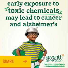 Early exposure to toxic chemicals may lead to cancer and alzheimer's