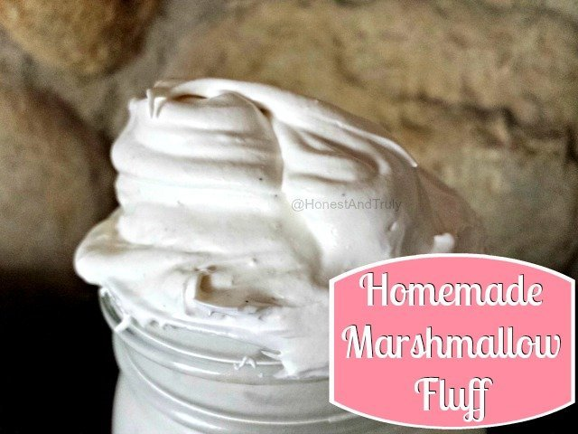 Homemade Marshmallow Fluff Recipe - Honest And Truly!
