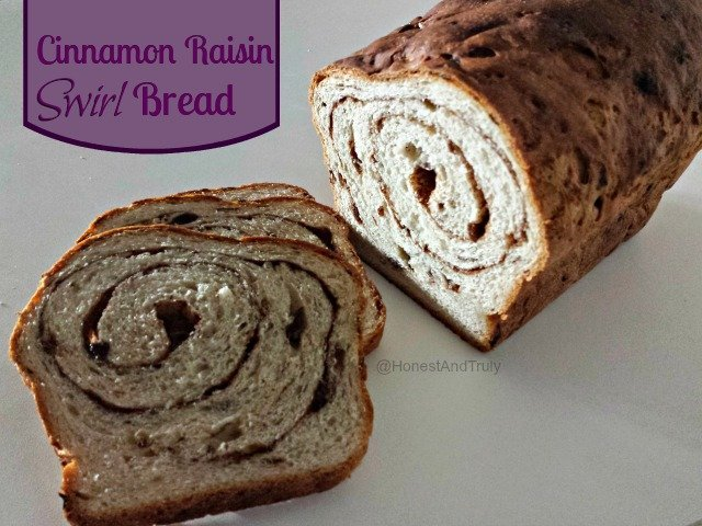 cinnamon raisin swirl bread recipe that doesn't require a bread ...