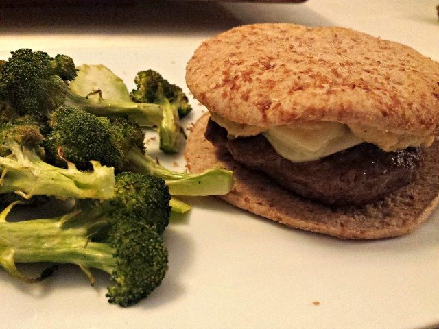 Parsnip puree as a healthy dip and condiment on burgers