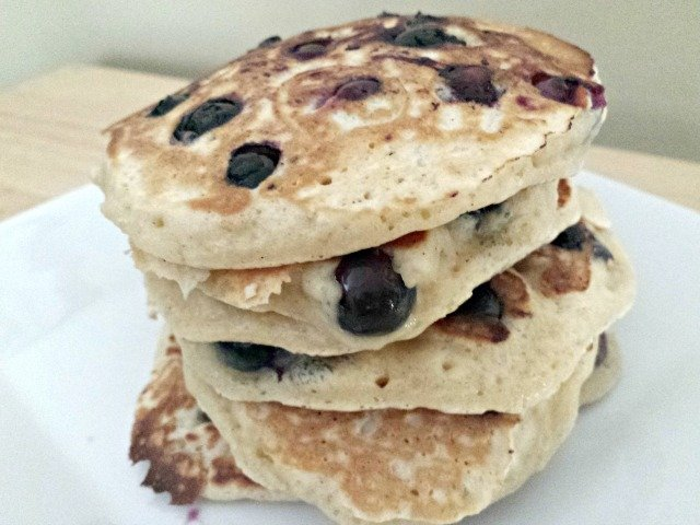 Easy Blueberry Pancakes Recipe - Honest And Truly!