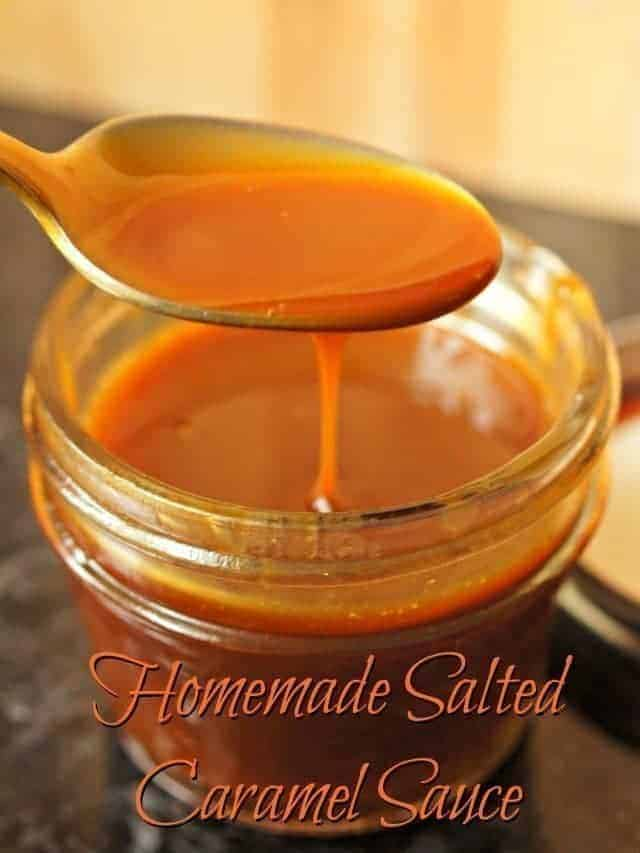 Salted Caramel Sauce Recipe - Honest And Truly!