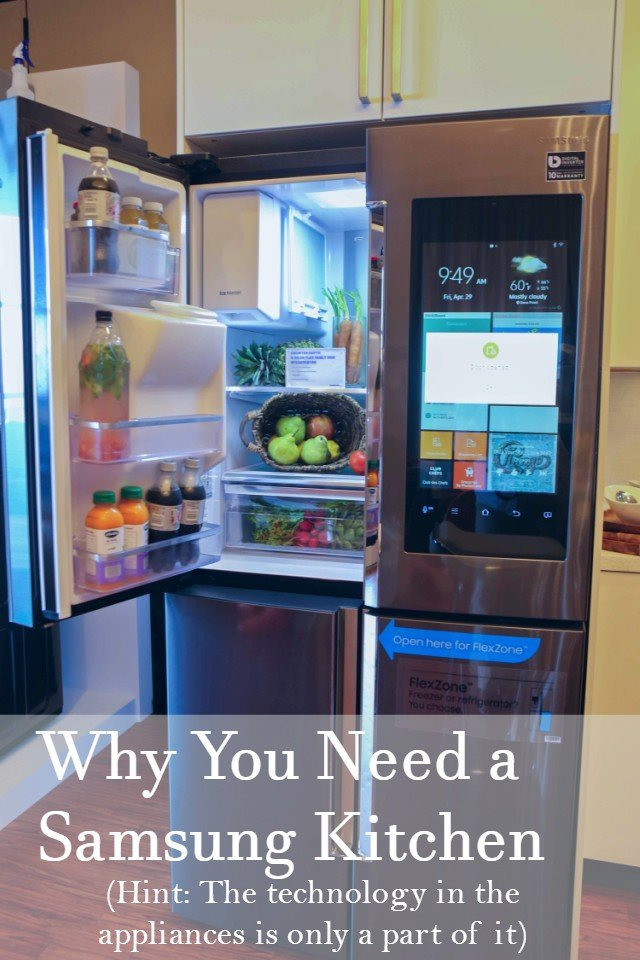 Why You Want a Smart Kitchen – Samsung Appliances Make Life Easier ...
