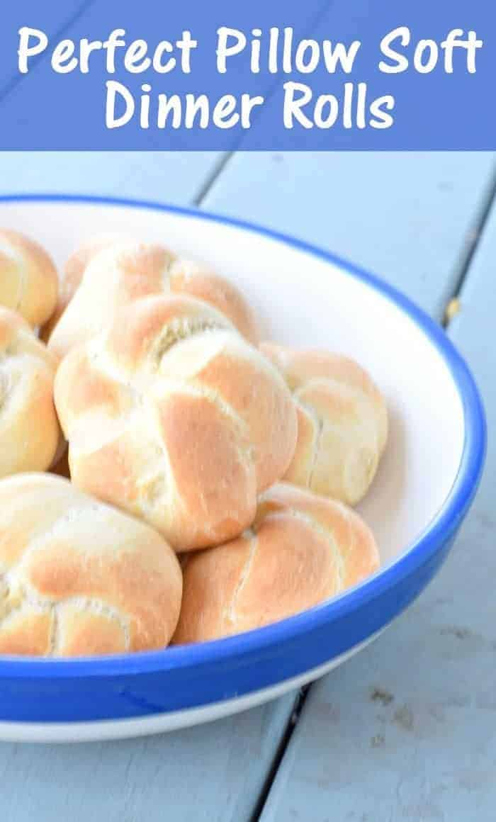 Perfect Pillowy Soft Dinner Roll Knots Recipe Honest And Truly